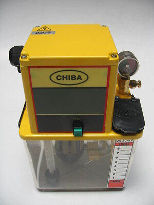 Chiba Lubrication Pump 2L Tank for Industrial Machines