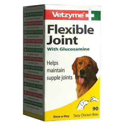Vetzyme Flexible Joint With Glucosamine Tablets For Dogs
