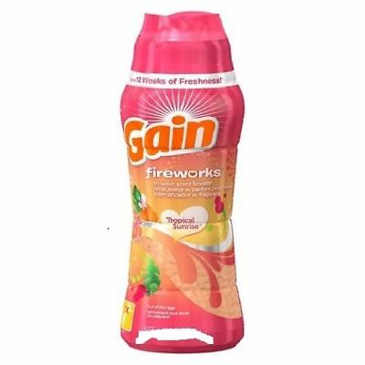 Gain Fireworks  Scent In-Wash Tropical Sunrise Scent Booster