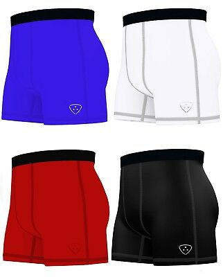 Men's Compression Boxer Shorts Baselayers Sports Briefs skin fit gym shorts