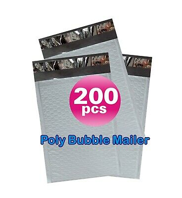Yens® 200 #2 Poly Bubble Padded Envelopes Mailers 8.5 X 12