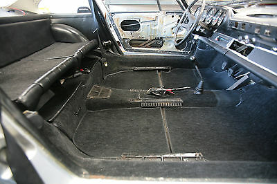 Porsche 911 / 912 German Hargaan Velour Carpet Kit 1965 - 1968 Black Charcoal
