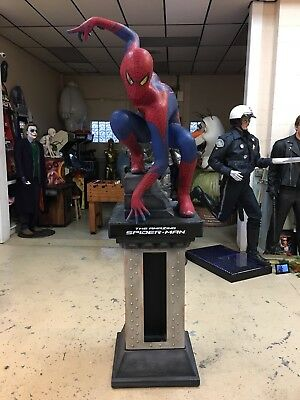Life Size Amazing Spiderman With Base Full Size Statue Of Spidey