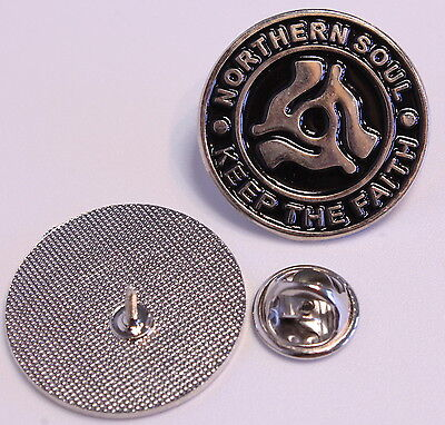 Northern Soul Center Pin (Mba 582)