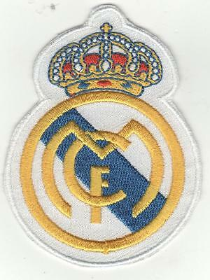 Real Madrid  Fc  Iron On Patch  Buy 2 Get 1 Free