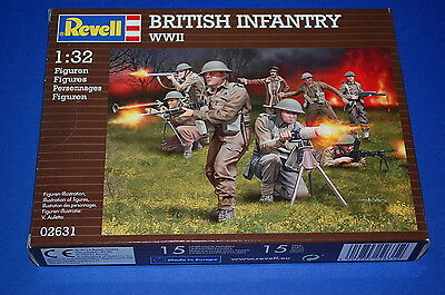 Revell 02631 - British Infantry WWII scala 1/32