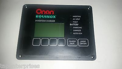 Onan Equinox Invertor/Charger Electric Remote Panel