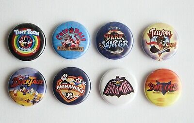 Saturday Morning Cartoons Ducktales Talespin 90s  buttons badges - (10 , 1)