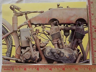 1984 Harley card collectible vintage American HD motorcycle note postcard