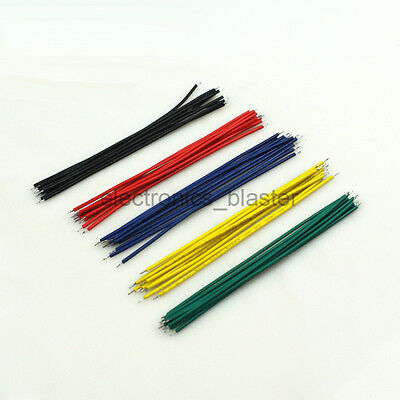 50pcs 1007-24 Color PCB Solder 10cm Jumper Wire Cable