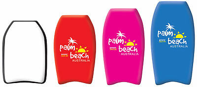 Palm Beach Childrens Slick Body Boards With Leash - 4 Sizes Available