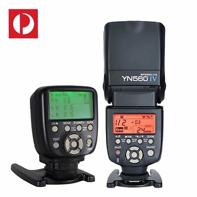 Yongnuo YN-560 IV Flash + YN-560TX LCD Wireless Manual Controller For Nikon AU