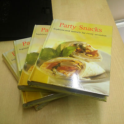 6 x Wholesale Joblot Modern Party Occasions Snacks Christmas Recipes Book Eng