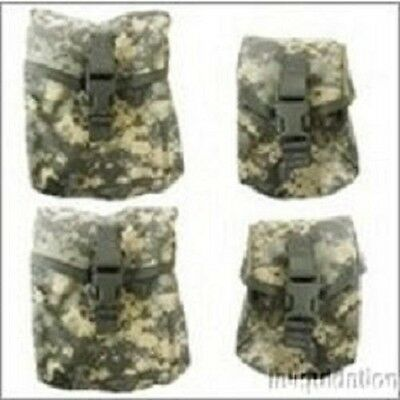 Molle ACU 4 Piece SAW Pocket/Pouch  Set  US Military.