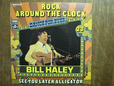 Bill Haley 45 Tours France Rock Around The Clock