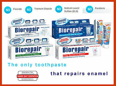 Biorepair® the toothpaste that actually repairs tooth enamel /dental care