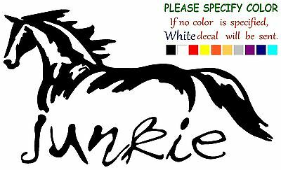 """Galloping Horse Funny Vinyl Decal Sticker Car Window laptop truck tablet 7/"""""""