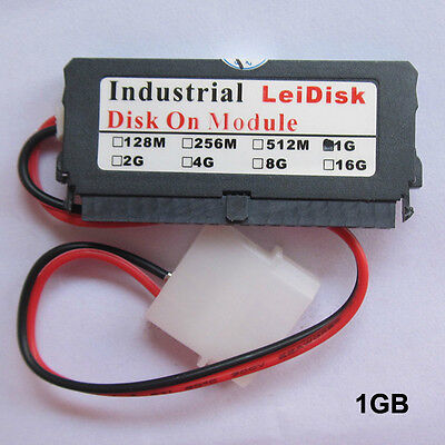 1GB Industrial DOM 40pin IDE flash memory Hard drive LeiDisk Disk On Module