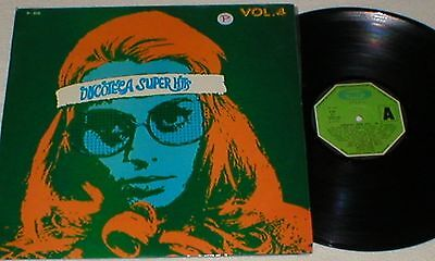 Discoteca Super Hits 4 Spain Lp 1974 Pekenikes Gloria Conexion Triana Bo Diddley