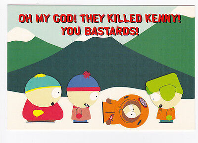 SOUTH PARK  carte postale n° SO.22  éditée en 1999  POSTCARD