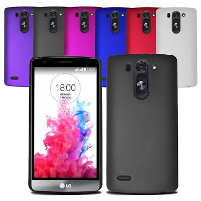 For LG G3S G3 S Mini (D722) Slim Hard Case Clip On Back Cover & Screen Protector