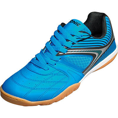 Donic Daytona Table tennis shoe Indoor shoes White cyan-blue 310204