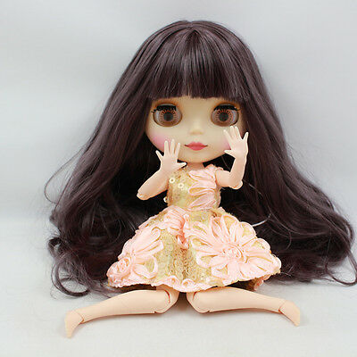 """Takara 12"""" Neo Blythe Matte Face joint body Nude Doll from Factory TBY117"""