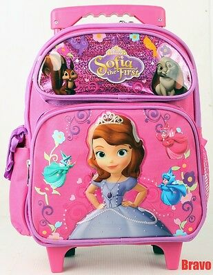 79ccd3c3893 Disney Princess Sofia Toddler Size Rolling Backpack 12