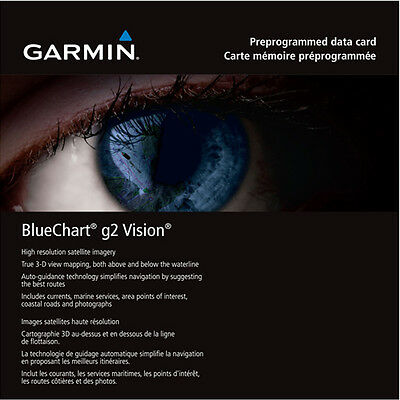 Garmin BlueChart g2 Vision, East Coast Of Australia VPC022R, Fishing, Boating