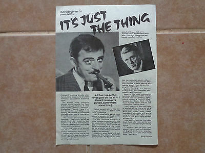 John Astin The Addams Family_MAGAZINE CLIPPINGS_ships from AUS!_14p