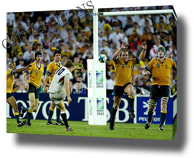 Jonny Wilkinson Canvas Print Poster Photo Wall Art England Rugby World Cup