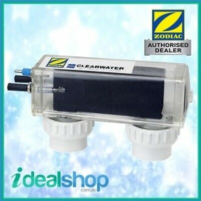 Clearwater Zodiac D10 GENUINE Self Cleaning Salt Water Chlorinator Cell