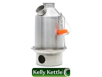Stainless Steel Scout LIMITED EDITION 800ml Ultra Fast Kelly Kettle, Kettle Kits