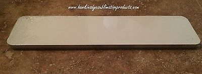 "3"" X 12"" Mini Street Sign - WHITE ALUMINUM SUBLIMATION BLANKS - NEW - 10 pieces"