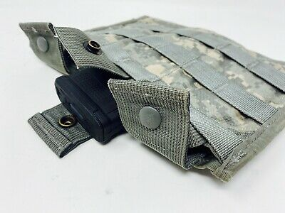 NEW Molle II Army Digital Storage Canteen General Purpose MRE Pouch ACU