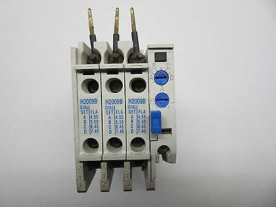 Eaton Cutler-Hammer C306DN3 Overload Relay with H2009A Dual Set Heaters VGC!!!