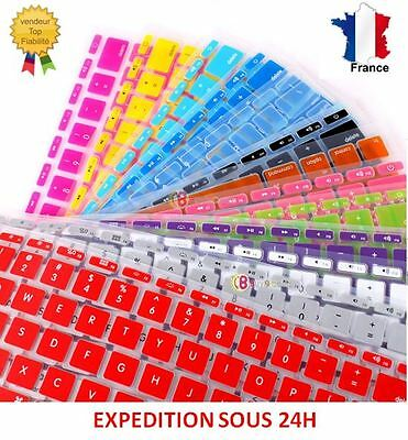 "Protège Clavier Silicone QWERTY protection MacBook Pro 11"" 13"" 15"" 17"""