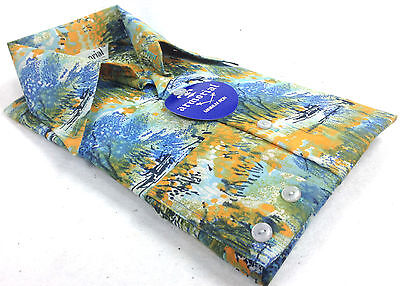 Tropical Disco Leisure Long Sleeve Dress Shirt XS -S Original Pack Vintage 1970s