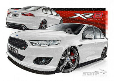 Xr8 Fg X Xr8 Falcon Fgx Xr8 Winter White  Stretched Canvas (Ft370)