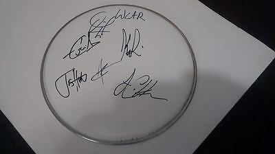 We Came As Romans Signed Drum Head Tracing Back Roots Cd Lp Photo Proof Coa