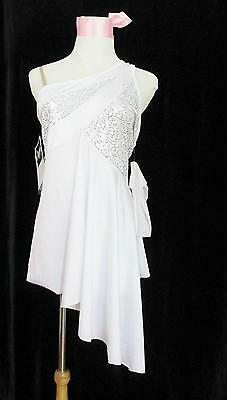 Jazz Fusion Sequins Curtain Call Costume Shorts Dance 2XLG