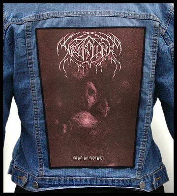WEAKLING ---Giant Backpatch Back Patch / Krallice Ash Borer Fell Voices Skagos