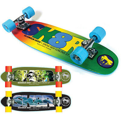 "Adrenalin Sk8R Cruise 27.5"" Skateboard- Cruise The Streets Or Hit The Skate Park"
