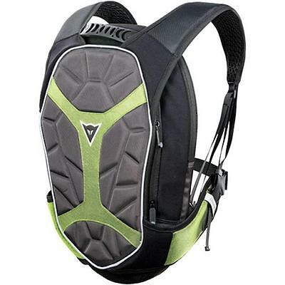 Zaino Moto Dainese D-Exchange Backpack S Nero-Giallo Fluo