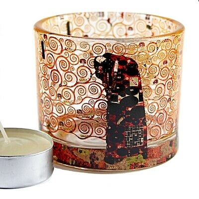 Klimt Fulfillment Glass Tea Light Candle Holder Parastone TL01KL Wedding Favor