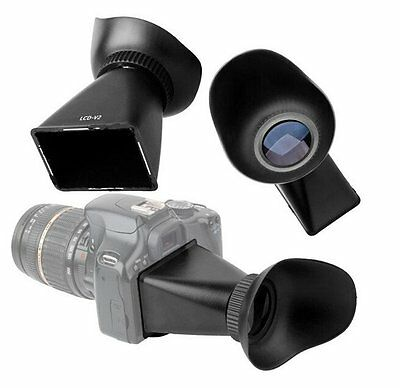 2.8x 3:2 LCD Viewfinder view finder Eyecup for Canon 550D 5D Mark III Nikon D90