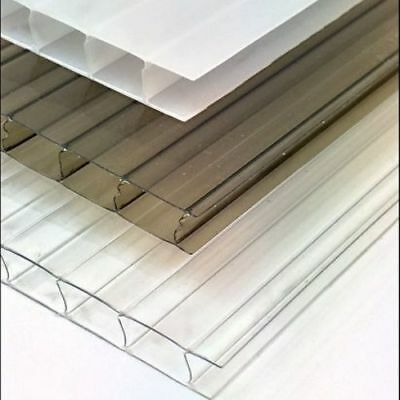 10mm Polycarbonate Roofing Sheet Clear Bronze Opal For Carports Canopies rr