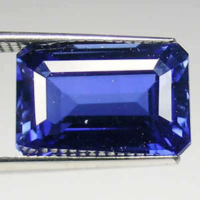 Lab Created Synthetic Light Blue Sapphire Emerald-Cut Loose Stones (5x3 - 14x10)