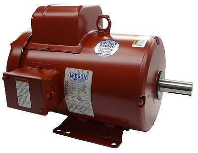 Leeson Electric Motor 131542.00 P184C17FB1 3 HP 1725 Rpm 1-PH  230V Single Phase