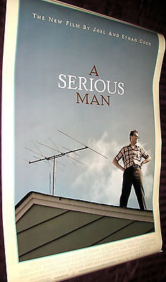 2009 A Serious Man Original Double Sided Movie Poster 27x40 Coen Brothers